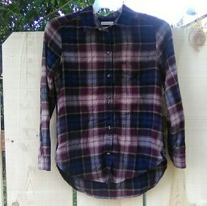 American Eagle Boyfriend Flannel button down
